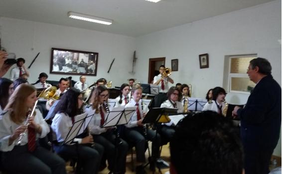 MÚSICA NA TERRA – SOCIEDADE MUSICAL NISENSE ATUA EM GALVEIAS